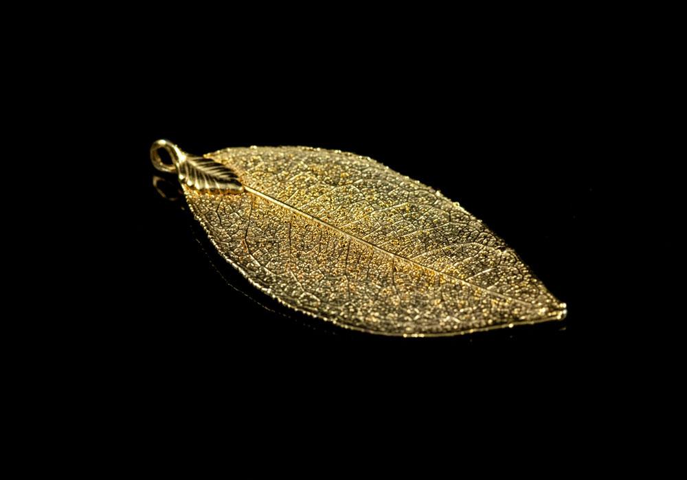 Лавровый лист кулон