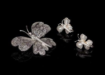 Серебряные комплекты - итальянское серебро