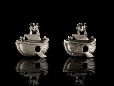 AJC клипсы Ноев ковчег США винтаж
