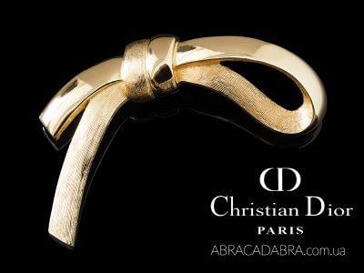 Christian Dior Кристиан Диор брошь украшения
