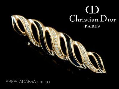 Брошь Christian Dior Кристиан Диор бижутерия