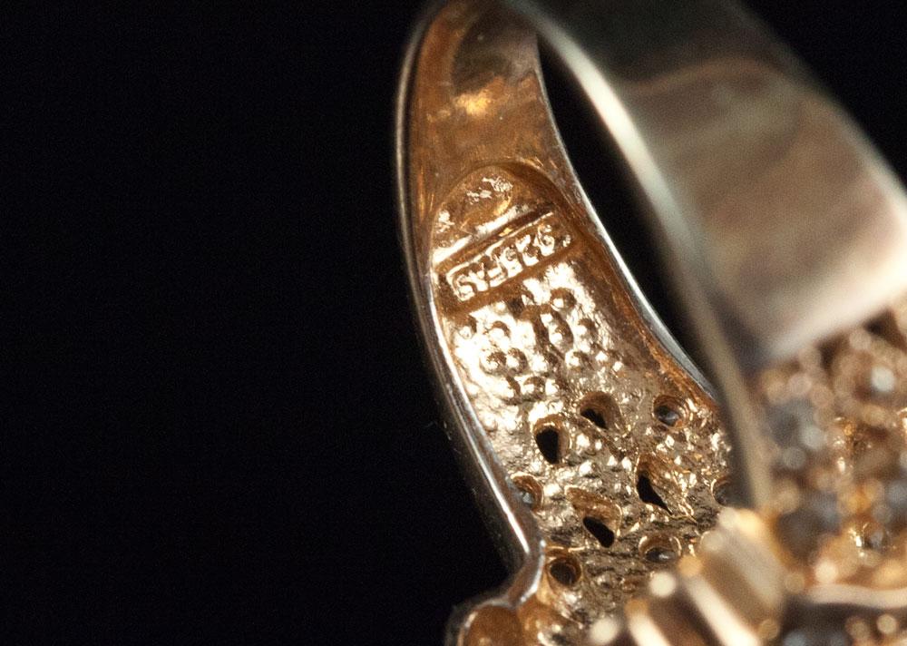 Маркированныое кольцо