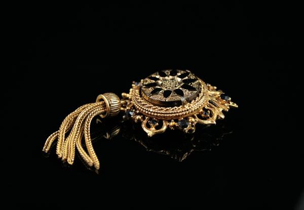 Старинная брошь-орден от Florenza