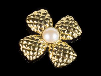 Брошь Chanel Шанель Мальтийский крест винтаж