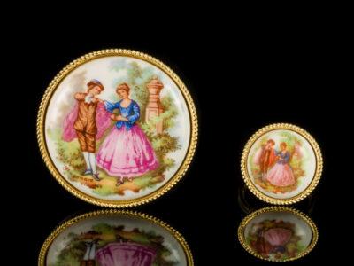 Французские украшения антикварные перстень