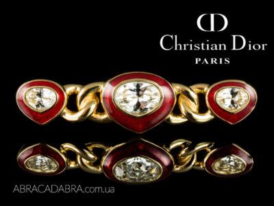 Брошь Christian Dior Swarovski Оригинал украшения