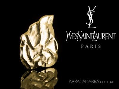 Yves Saint Laurent Ив Сен Лоран брошь оригинал