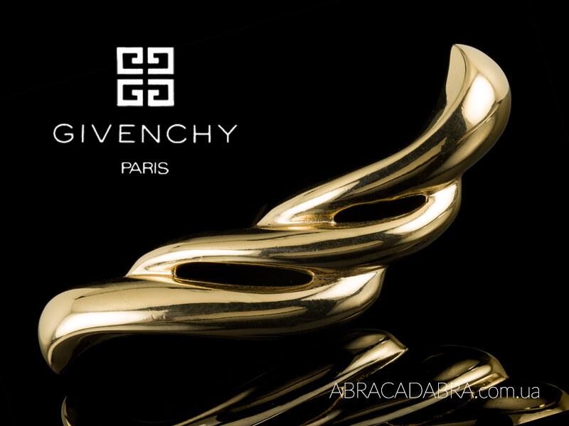 Живанши Givenchy украшения брошь винтажные оригинал