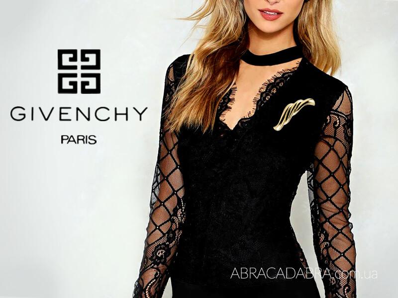 Givenchy Живанши бижутерия оригинал брошь винтаж