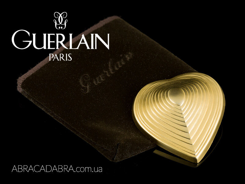 Guerlain Герлен брошь украшения винтаж оригинал