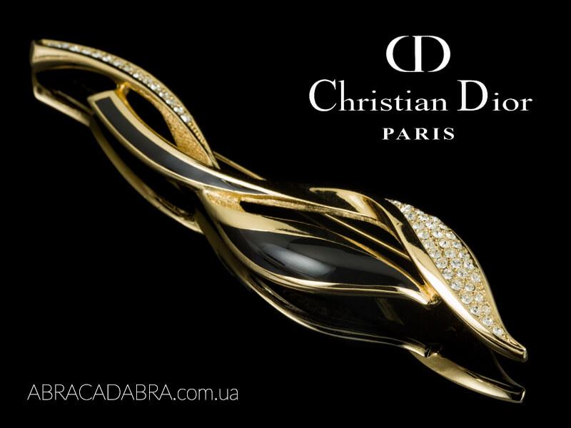 Диор украшения Dior бижутерия оригинал винтаж