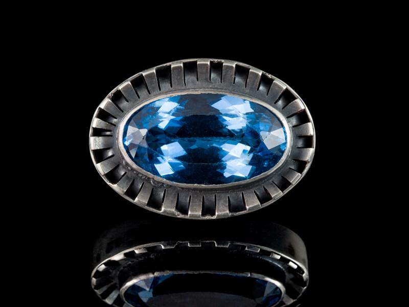 Израильское серебро украшения брошь