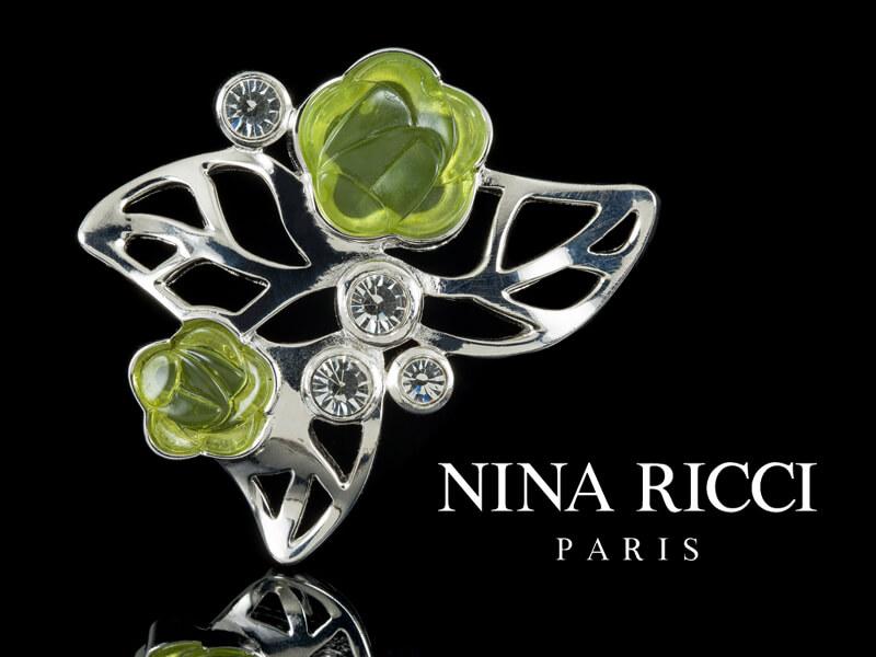 Nina Ricci украшения Нина Риччи брошь оригинал