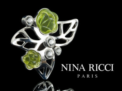 Нина Риччи бижутерия Nina Ricci брошь оригинал