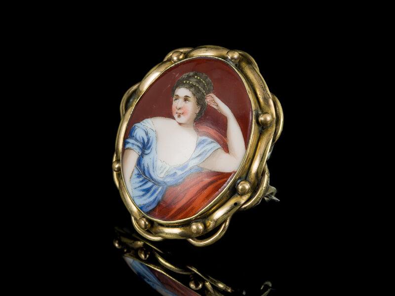 Антикварные украшения Франция ювелирные изделия