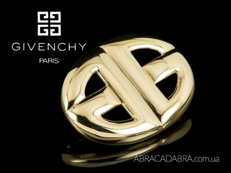 Живанши Givenchy винтажные украшения оригинальные