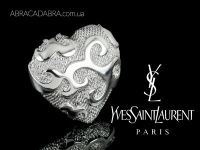 Yves Saint Laurent бижутерия оригинальная броши