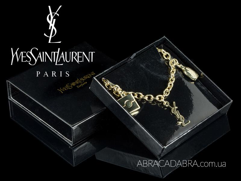 Yves Saint Laurent украшения Ив Сен Лоран YSL оригинал