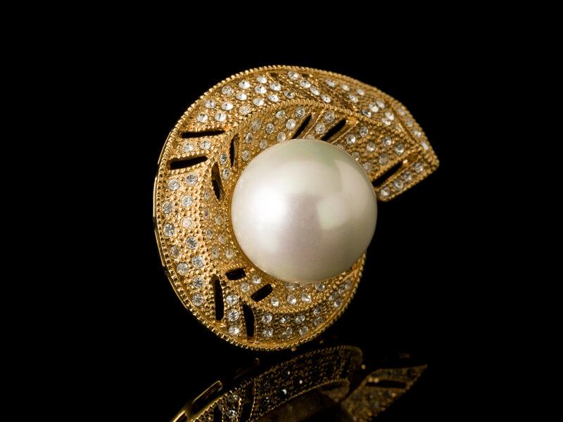 Украшения с жемчугом Майорика серебро золото