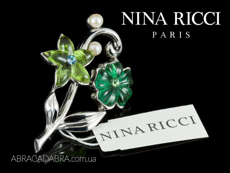 Брошь Нина Риччи Nina Ricci украшения Оригинал Лалик Lalique