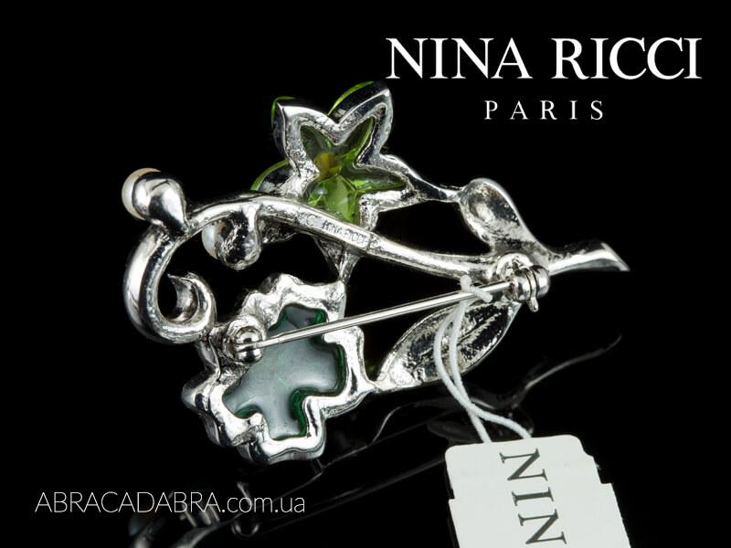 Оригинал Нина Риччи Nina Ricci Лалик Lalique Сваровски Swarovski