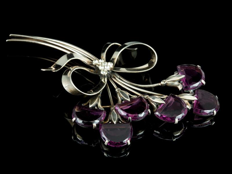Винтажные украшения Австрия кристаллы Swarovski броши
