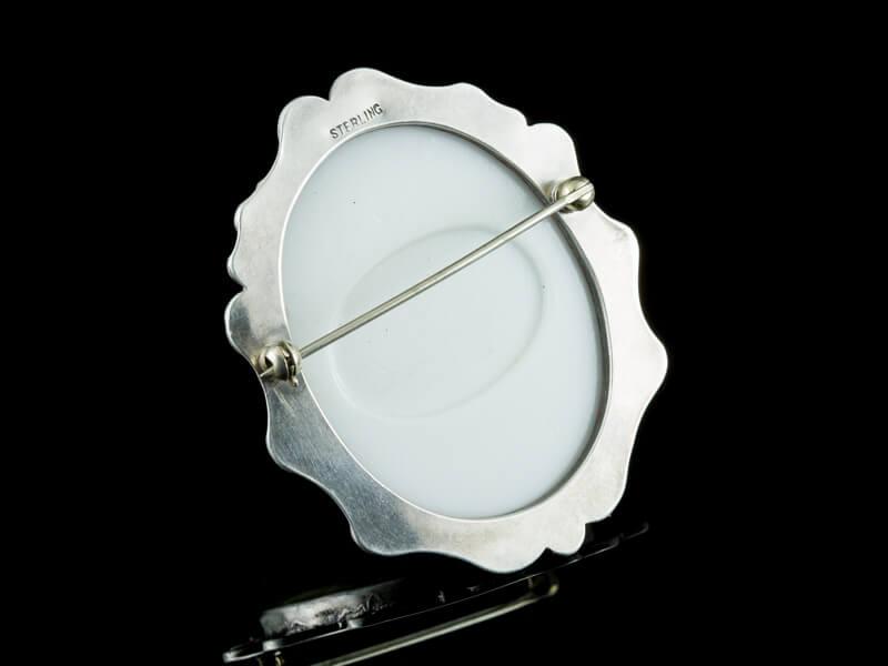 Limoges Лимож фарфор серебро украшения