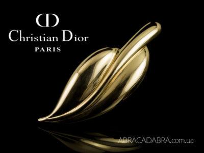 Кристиан Диор броши Christian Dior украшения оригинал винтаж