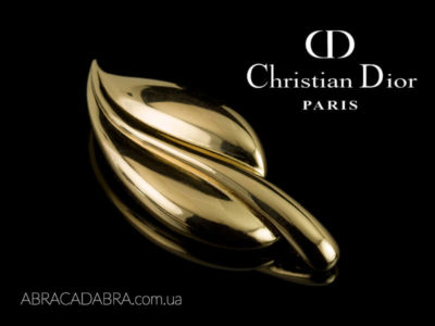 Christian Dior бижутерия Кристиан Диор брошь оригинал