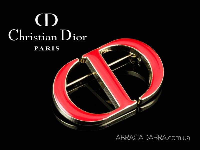 Брошь Диор Dior бижутерия оригинал украшения