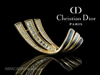 Dior брошь украшения бижутерия оригинал