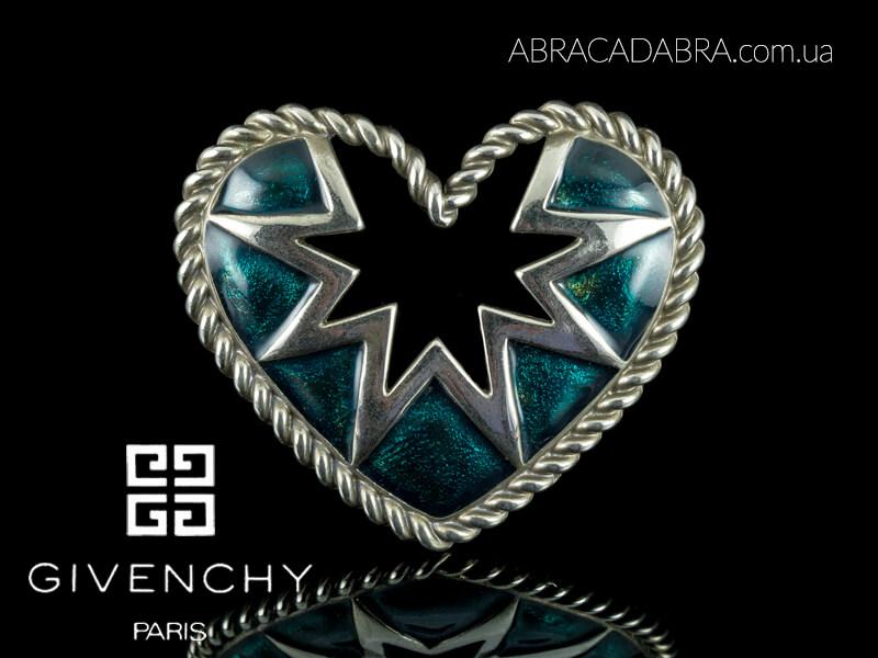 Givenchy брошь винтажная оригинал украшения