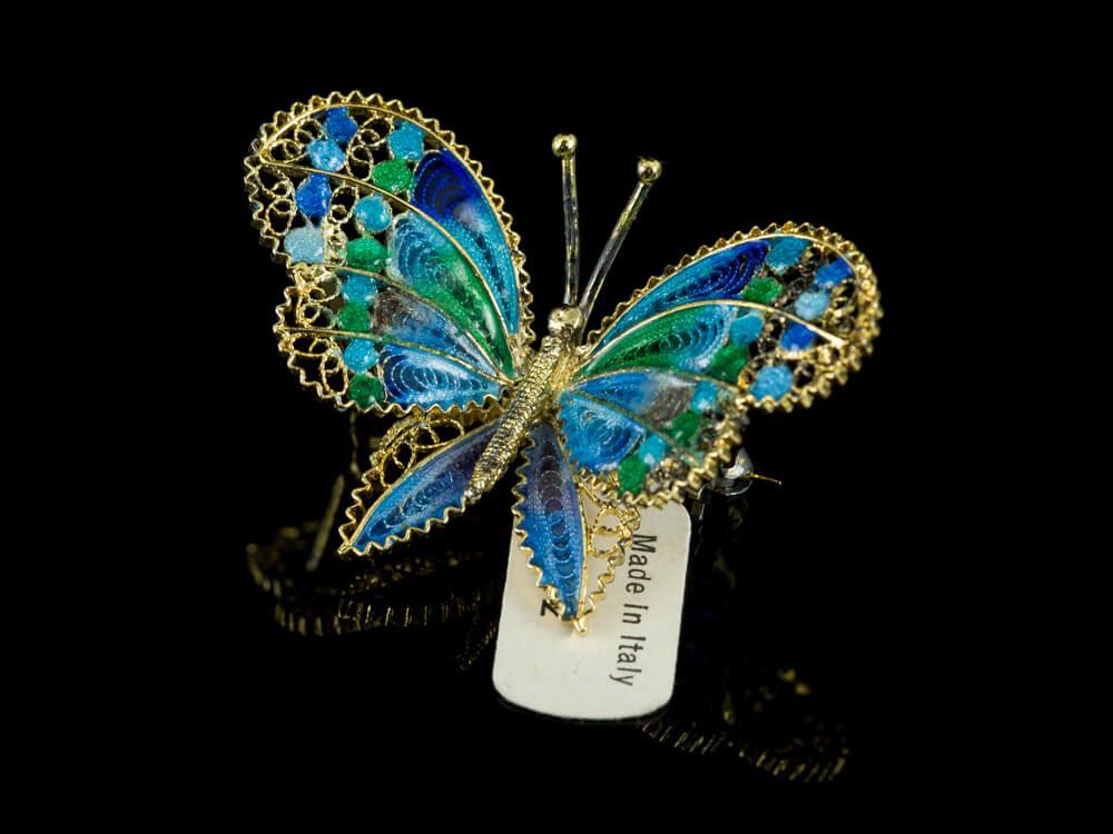 Эмалевые ювелирные изделия из итальянского серебра